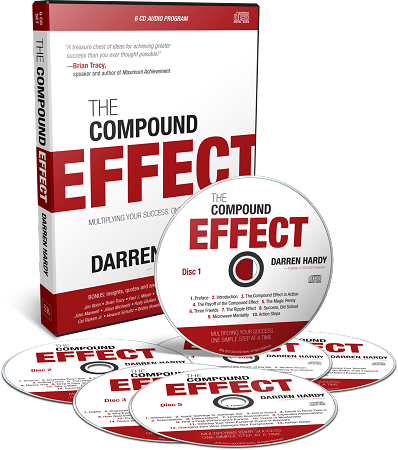 the compound effect book enhanced audio program combo by darren hardy. Black Bedroom Furniture Sets. Home Design Ideas