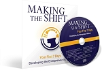 Making the Shift: Developing the Entrepreneur Mindset CD By Darren Hardy