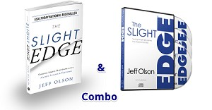 The Slight Edge CD & Book Combo Pack by Jeff Olson